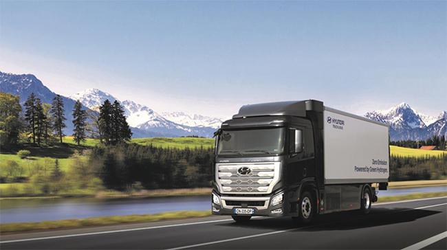 Hyundai H2 Xcient Fuel Cell, el camión para la flota de Hyundai Hydrogen Mobility.