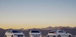 Hyundai explica las ayudas en Europa para los vehículos electrificados. En la foto, el IONIQ eléctrico.