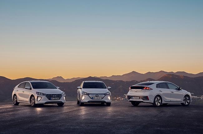 Gama Hyundai IONIQ.