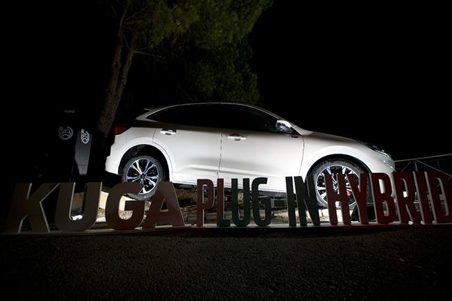 Ford ha puesto a disposición de Starlite una flota de vehículos electrificados.
