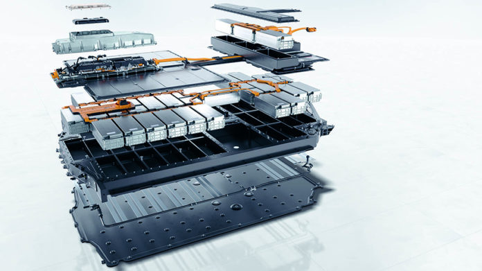 batería iones de lito coche eléctrico