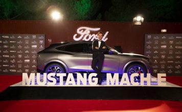 Ford ha mostrado en primicia el Mustang Mach-e en la gala benéfica Starlite.
