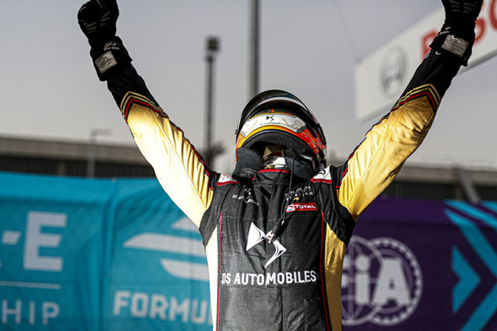 Antonio Félix da Costa (PRT), DS Techeetah, DS E-Tense FE20, ganadores de la Formula E.