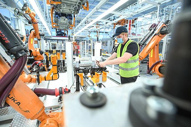 La planta se ha actualizado para acoger la fabricación, entre otros, del eléctrico ID.Buzz.