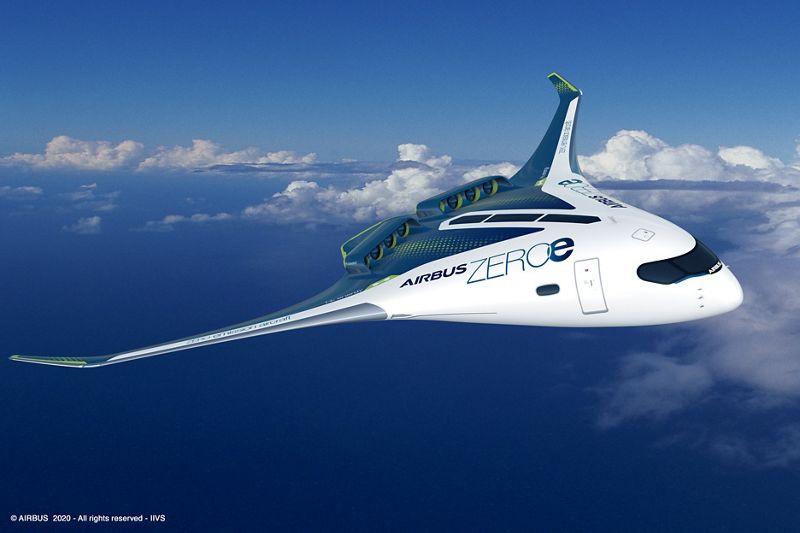 avión comercial cero emisiones