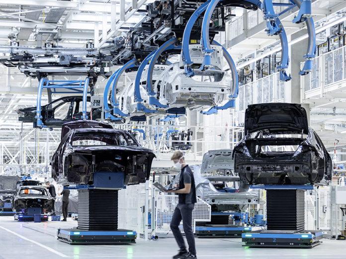 El nuevo concepto de Factory 56 muestra una producción eficiente y sostenible.