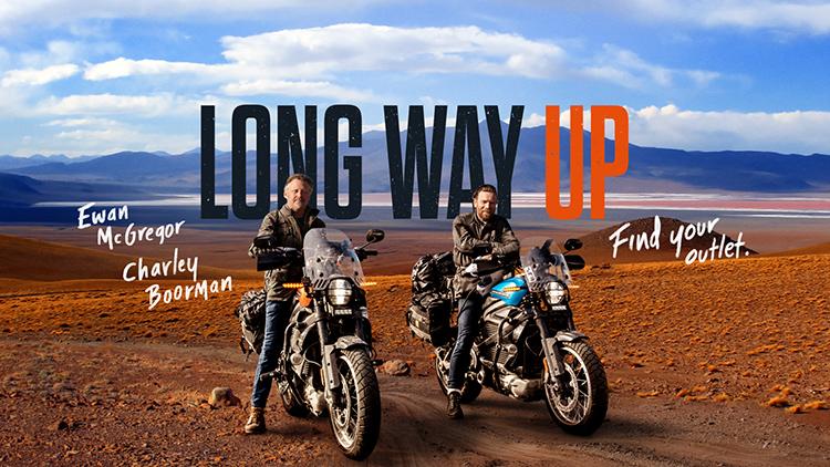 Long Way Up, 21.000 km a bordo de dos Harley Davidson Livewire, eléctricas.