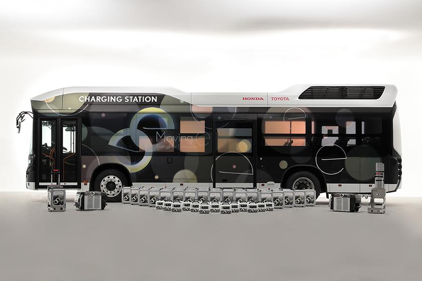 Crean autobús de hidrógeno capaz de generar electricidad para casas y vehículos