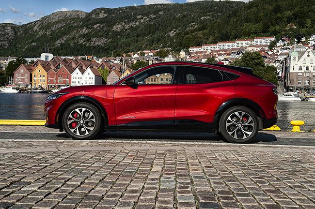 El coche ha estado de pruebas por Noruega.