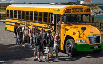 Autobuses escolares eléctricos, una gran apuesta de Blue Bird.