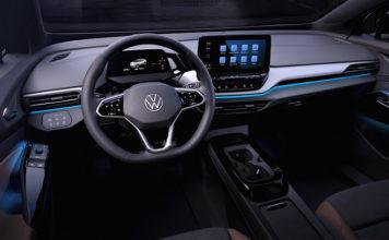 Interior del VW ID.4.