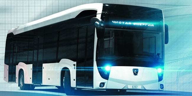 Autobús de Kamaz. Foto: Electrive.com