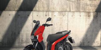 SEAT MÓ eScooter 125 eléctrica.