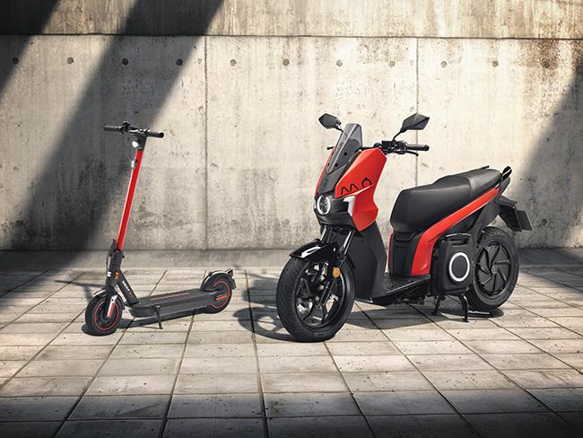 SEAT MÓ eScooter 125 eléctrica y eKickScooter.