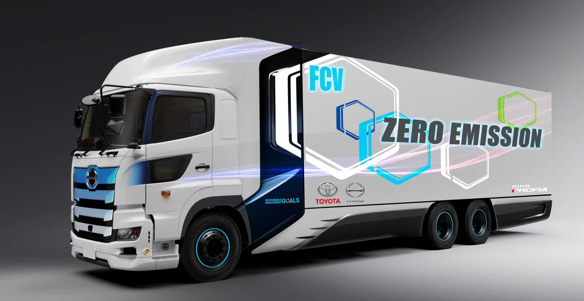 camiones de hidrogeno