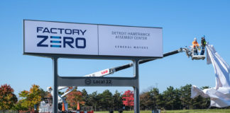 General Motors reconvierte su planta de Detroit-Hamtramck en Factory ZERO, una planta sostenible dedicada a la producción de vehículos eléctricos.