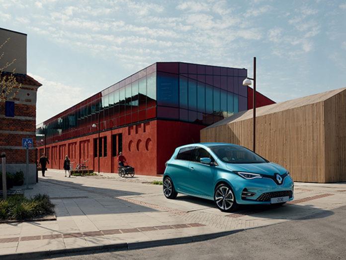 El Renault ZOE será desde ahora el vehículo de sustitución de la red de talleres de la marca.