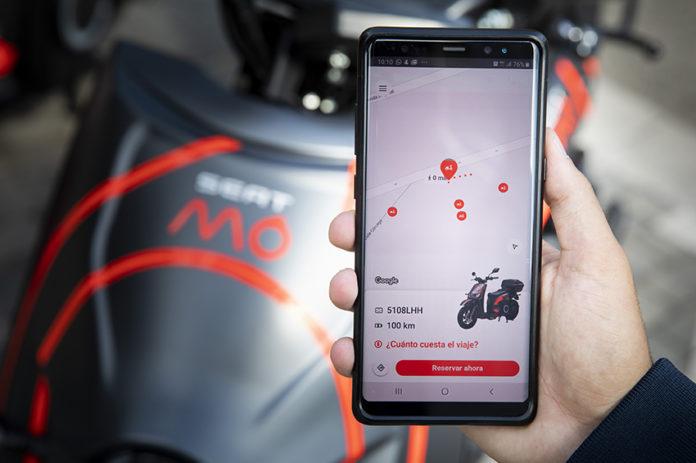 SEAT MÓ, el servicio de motosharing en Barcelona, es la primera compañía en utilizar la plataforma de movilidad de SEAT:CODE.