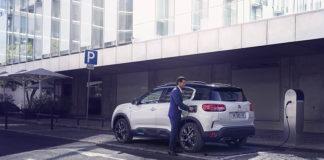 La gama Citroën Business comprende tanto turismos como vehículos comerciales. En la imagen, el C5 Aircross Hybrid, híbrido enchufable.