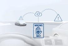 Wrong-way Driver Warning, la solución de Bosch para alertar sobre kamikaces.