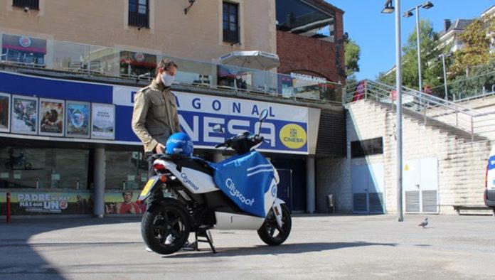 Una iniciativa simpática la de Cityscoot Barcelona.