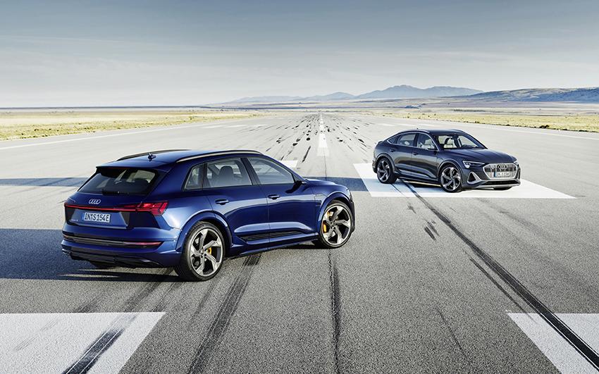 Llegan a España los nuevos Audi e-tron S y e-tron S Sportback.