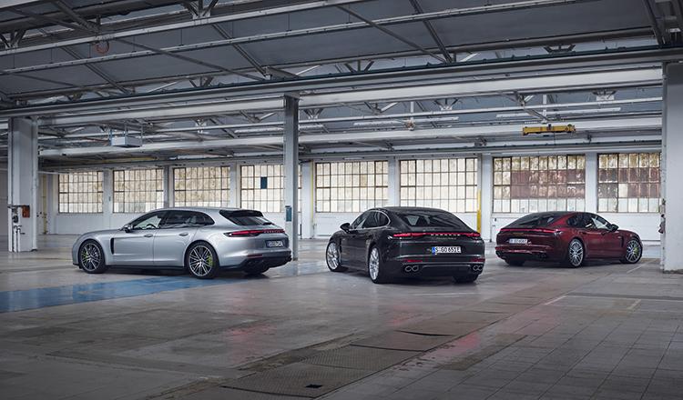 Nueva gama Porsche Panamera.