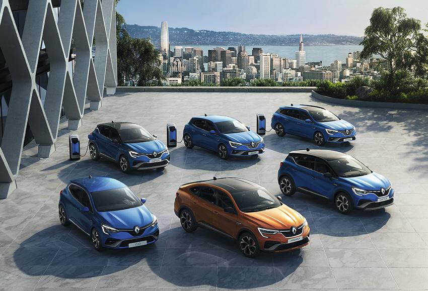 coches eléctricos de renault e hibridos enchufables