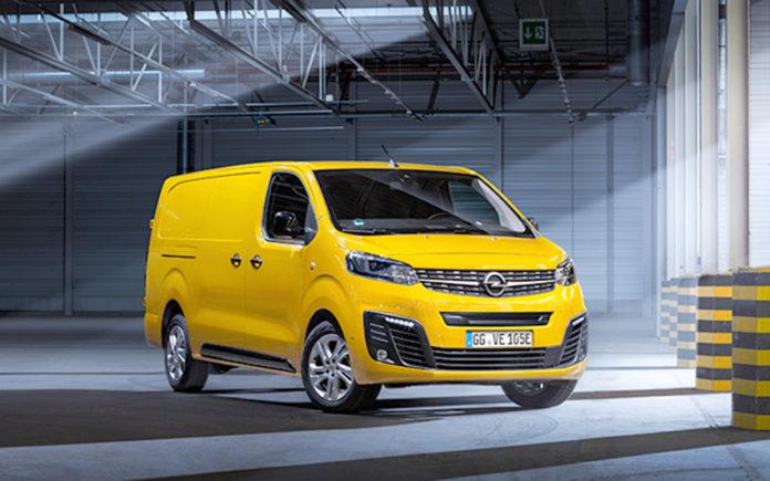El Opel Vivaro-e hace