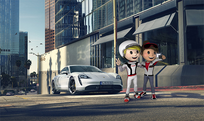 Porsche 4Kids, otra de las acciones de Porsche para aliviar el confinamiento.