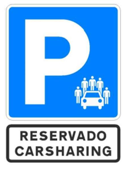 Señal para el estacionamiento exclusivo.Señal para el estacionamiento exclusivo.