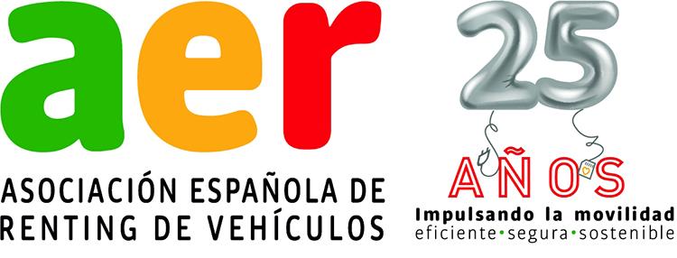 Logo del aniversario de la AER.