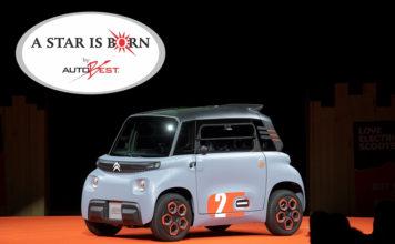 """Autobest ha otorgado al Citroën Ami el premio especial: """"A STAR IS BORN""""."""