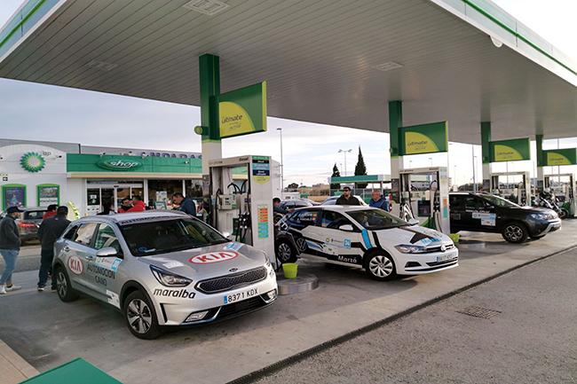 Entre los patrocinadores de la séptima edición, BP España, que efectuará el repostaje de los vehículos PHEV.