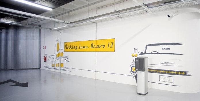Nuevo aparcamiento Juan Bravo 13 de Madrid.