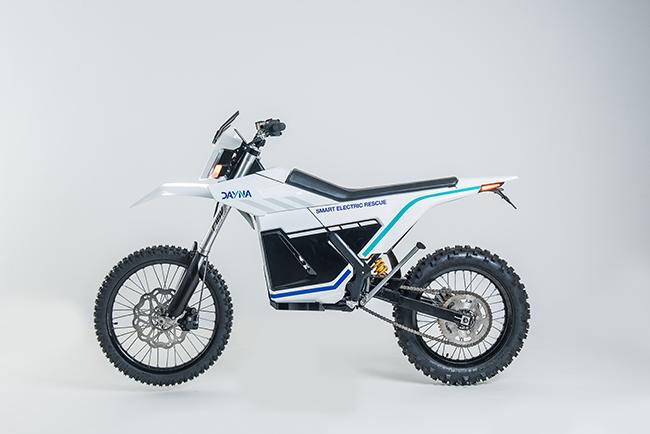 Dayna, la motocicleta off-road de rescate.