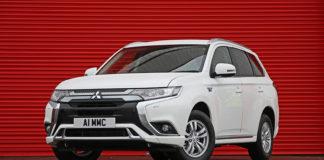 Mitsubishi Outlander, un vehículo comercial PHEV de éxito en Reino Unido.