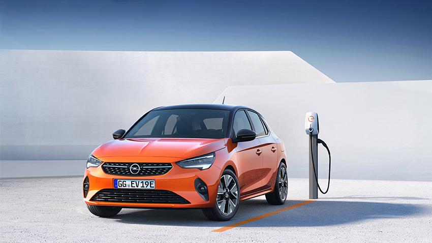 Opel Corsa-e coches pequeños electricos baratos