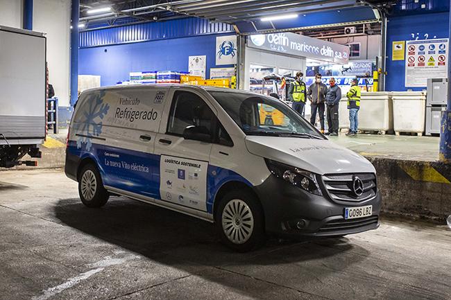 Mercedes eVito del proyecto Eccentric.