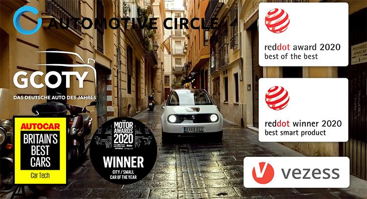 El Honda e cuenta ya con muchos premios desde su lanzamiento a comienzos del año.