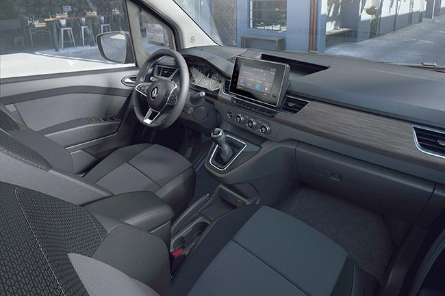 Interior. Renault Kangoo.