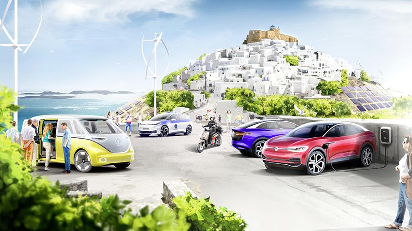 SEAT participa en el proyecto de transición a la neutralidad de emisiones de la isla griega de Astypalea.