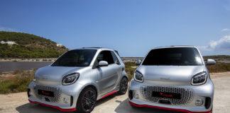 Hay 57 unidades disponibles de la edición exclusiva: 50 del smart fortwo EQ coupé y 7 del cabrio.