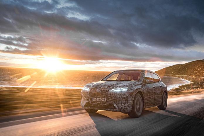 El BMW iX, de pruebas por el Cabo Norte.