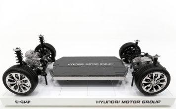 Nueva plataforma E-GMP para vehículos eléctricos de Hyundai Motor Group.