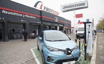 First Stop cuenta con una infraestructura de unos 100 puntos de recarga en su red de talleres.