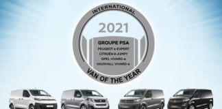 "Premio ""International Van Of The Year 2021"" para las furgonetas eléctricas de PSA."