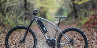 Valeo e-Bike System incorporado a una bicicleta de montaña.