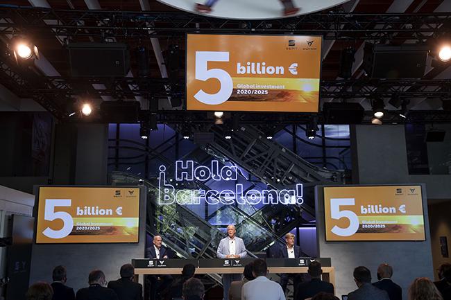 Wayne Griffiths, el nuevo presidente de SEAT, anuncia una inversión de 5.000 millones de euros entre 2020 y 2025.