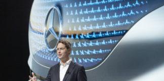 Ola Källenius, presidente de la Junta Directiva de Daimler AG y CEO de Mercedes-Benz AG, durante la presentación de la estrategia de Mercedes en octubre.